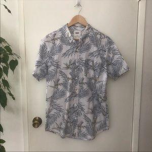 Levi's Palm Leaf Print Button Down